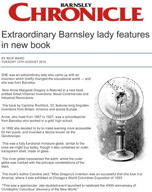 Barnsley Chronicle Caroline Rochford