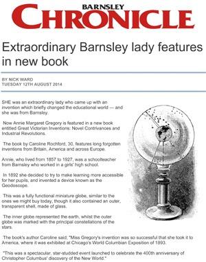 Barnsley Chronicle Caroline Rochford
