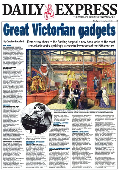 Daily Express Caroline Rochford