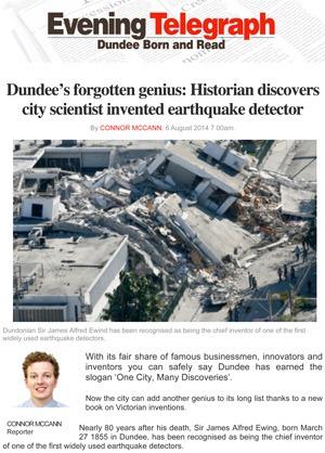 Dundee Evening Telegraph Caroline Rochford
