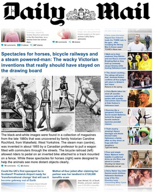 Daily Mail Caroline Rochford