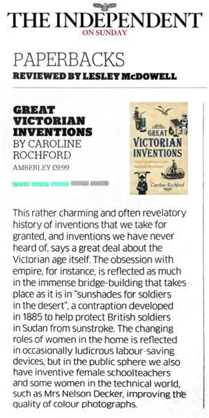 Independent on Sunday Caroline Rochford
