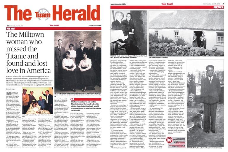 Heir Line Tuam Herald