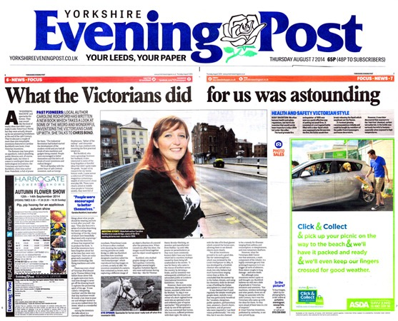 Yorkshire Evening Post Caroline Rochford