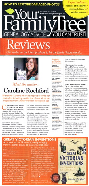 Your Family Tree Magazine Caroline Rochford