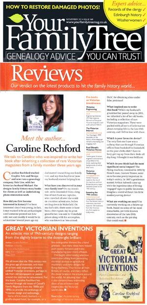 Your Family Tree Magazine Caroline Rochford