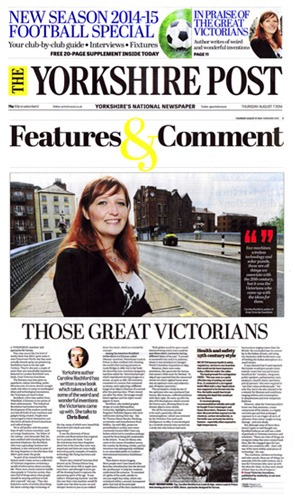 Yorkshire Post Caroline Rochford