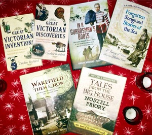 History books by Caroline Rochford and Michael J. Rochford