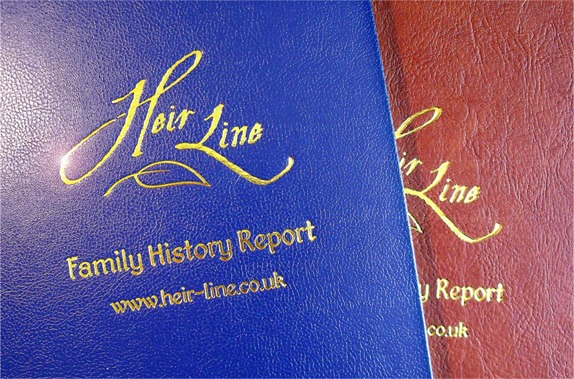 Heir Line Family History Reports