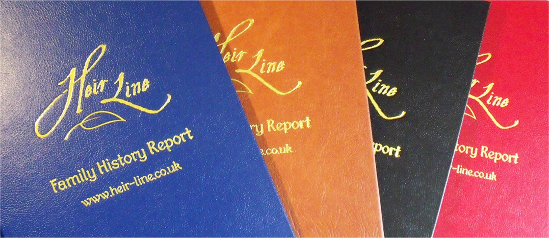 Family History Reports by a professional family tree researcher